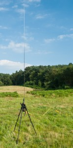 12-foot MFJ vertical antenna