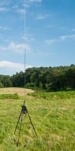 12-foot MFJ vertical antenna