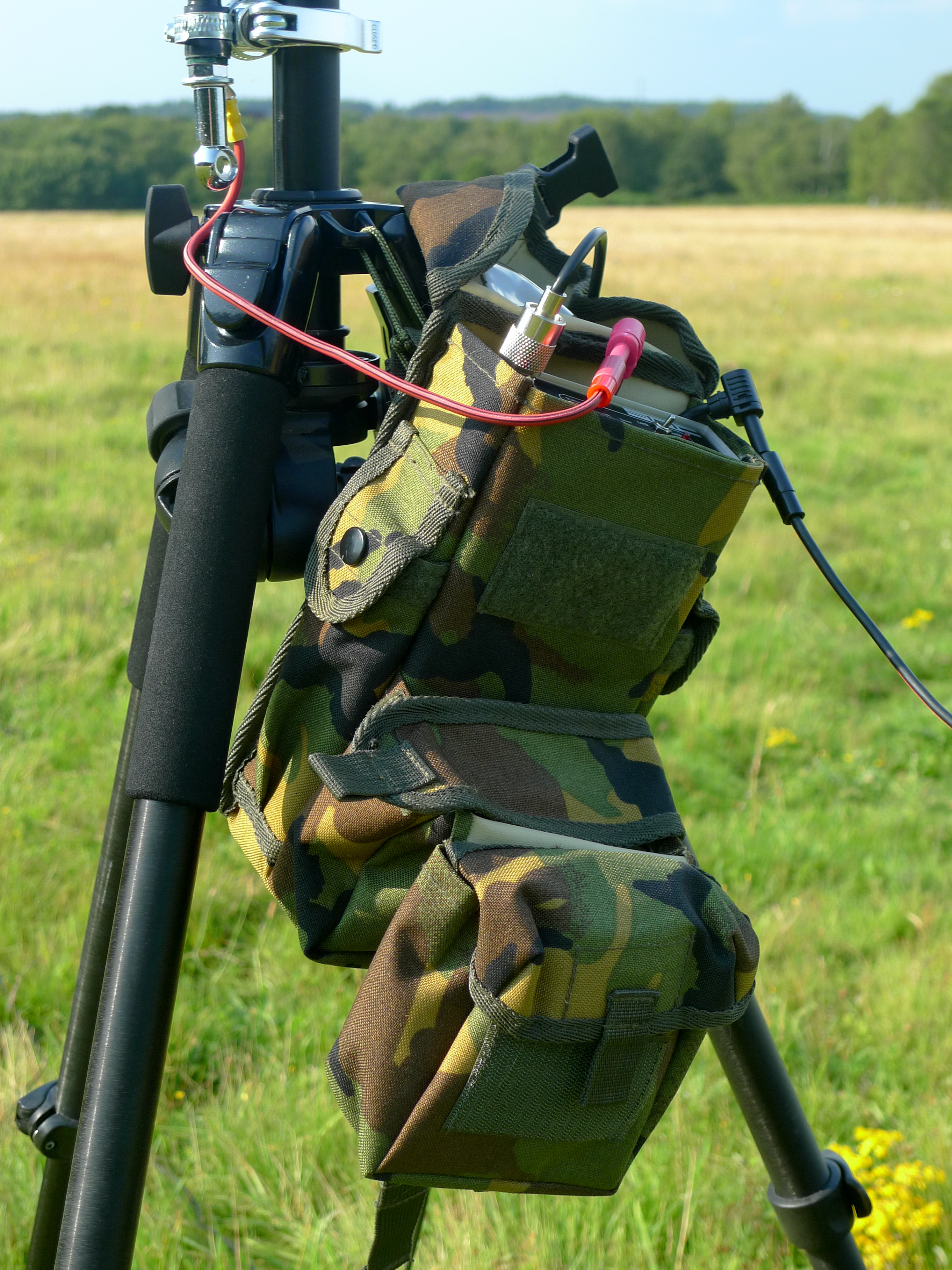 Fast Setup Portable Vertical Antenna Way Switches Explained Alloutputcom Military Trauma Pouch Housing The Sgc Sg 211 Atu