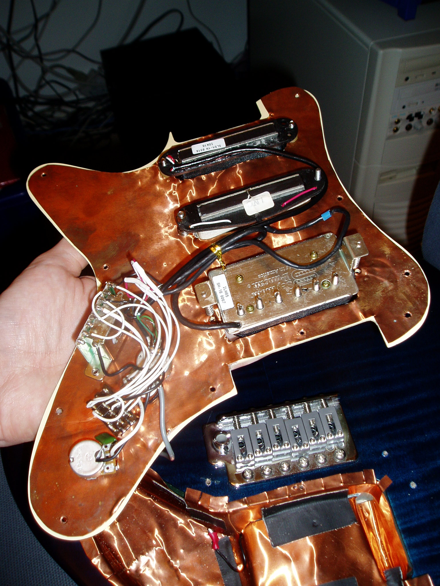 Hsh Wiring Mod To Hh Sss Electric Guitar An