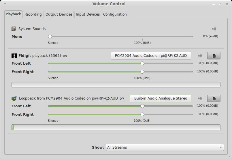 Screenshot-Volume Control