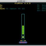 SignaLink USB on RPi - alsamixer F6 - (default)