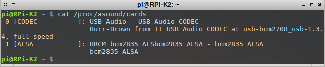SignaLink USB on RPi - cat proc-asound-cards