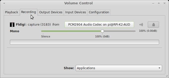 pavucontrol recording