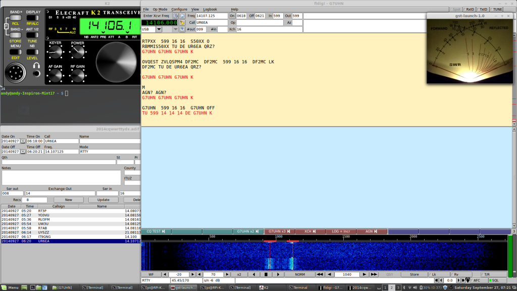 rtty contest main desktop