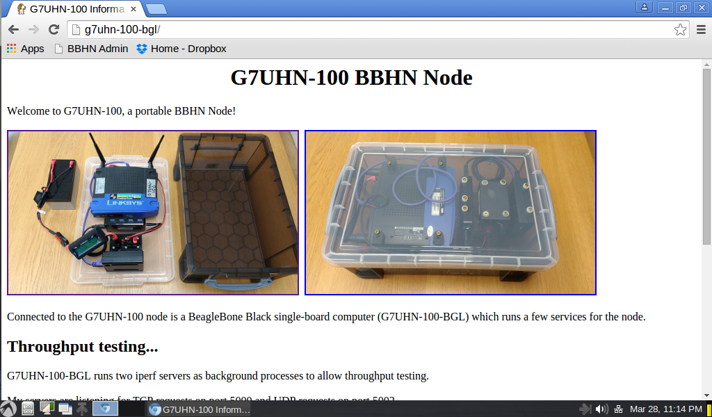 If you come across my node on a BBHN network it will tell you a little bit about itself... :-)